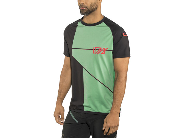 ION Traze AMP Cblock Bike Jersey Shortsleeve Men green/black